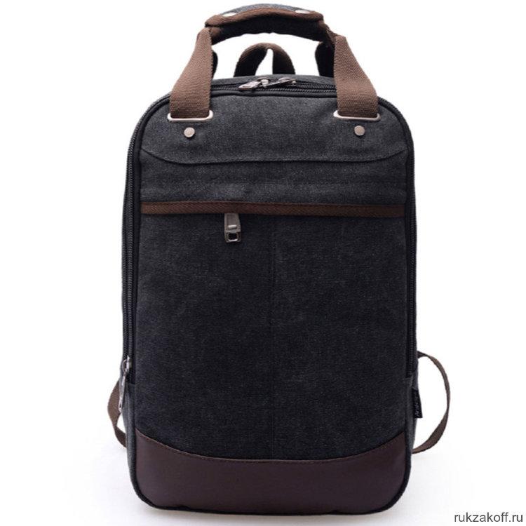 4e677f8b40a7 Мужской рюкзак-сумка Trip Doc (черный) купить по цене 1 490 руб. в ...