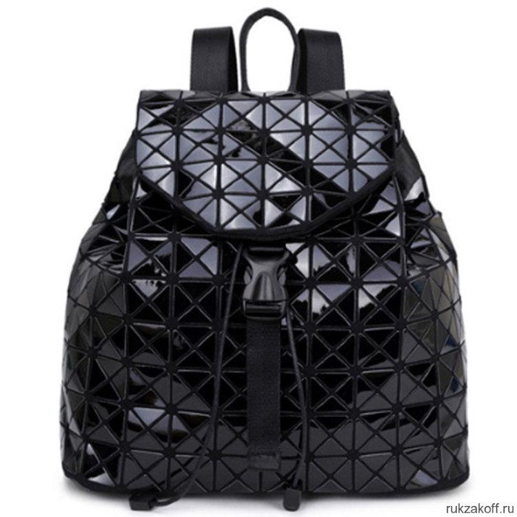 129bd6074bfa Женский рюкзак Gologram (черный глянец) купить по цене 2 690 руб. в ...