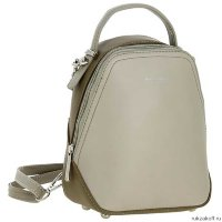 Сумка-рюкзак David Jones 5705 2 GREY KHAKI