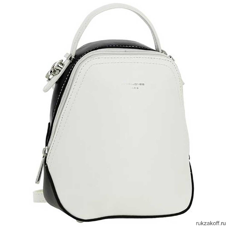 e0a5ab21e69c Сумка-рюкзак David Jones 5705 2 WHITE BLACK купить по цене 2 350 руб ...