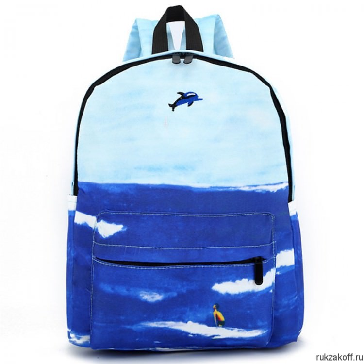 2707ca57dbff Рюкзак Море (синий/голубой)