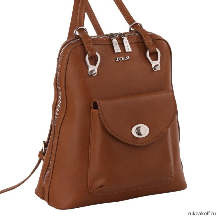 998970d8e01d Женская сумка-рюкзак 68307 Brown купить по цене 3 510 руб. в Москве ...