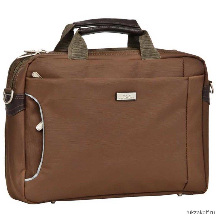 d0e12c3a4f71 Сумка для ноутбука Pola П8008 (коричневый) купить по цене 3 980 руб ...