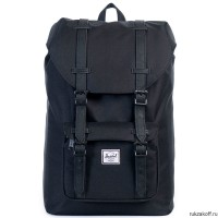Рюкзак HERSCHEL LITTLE AMERICA MID-VOLUME BLACK