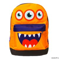 Детский рюкзак JetKids Orange Monster Sandy