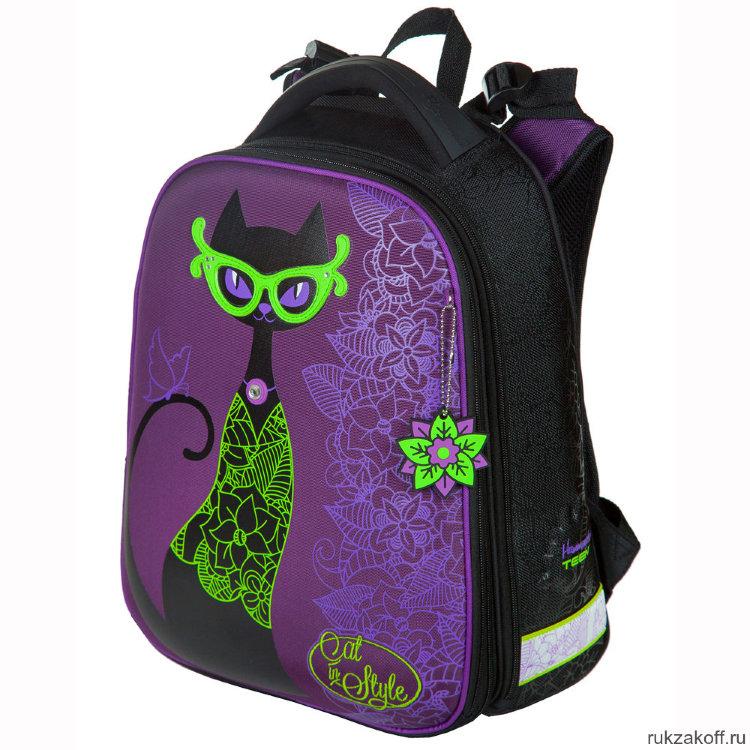 f9ff40ce8d49 Школьный рюкзак-ранец Hummingbird T81 Purple Cat купить по цене 4 ...