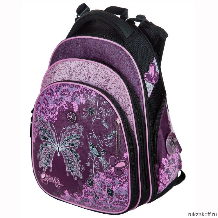 ca47bfe74c3e Школьный рюкзак-ранец Hummingbird T86 Butterfly Flowers купить по ...