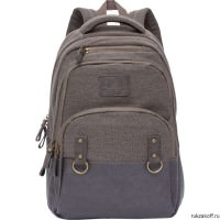 Рюкзак Grizzly Canvas Brown Ru-703-1