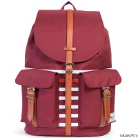 Рюкзак HERSCHEL DAWSON WINDSOR WINE OFFSET STRIPE