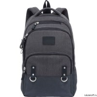 Рюкзак Grizzly Canvas Black Ru-703-1