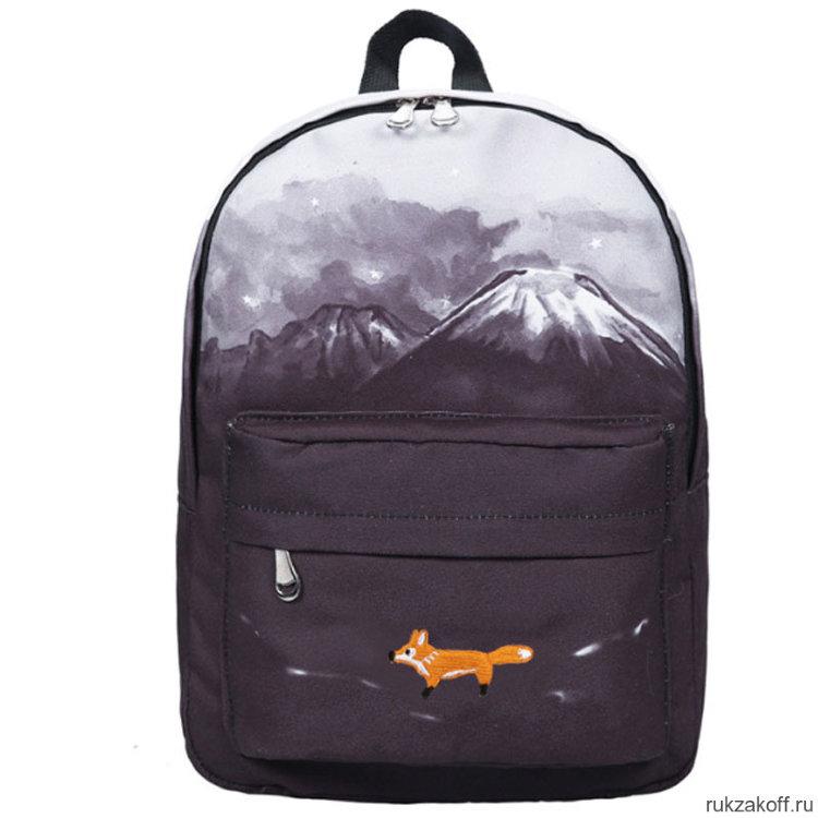 e64bd54ea22d Молодежный рюкзак Лиса в горах купить по цене 1 290 руб. в ...