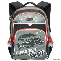 Рюкзак Grizzly Racing №2 Gray Rb-632-3