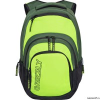 Рюкзак Grizzly Campus Lime Ru-704-1