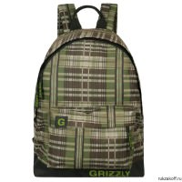 Рюкзак Grizzly SimpleG Black/Green Ru-600-1