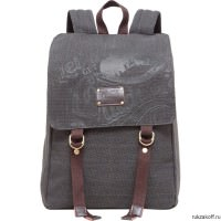 Рюкзак Grizzly OldCanvas Black Ru-620-1