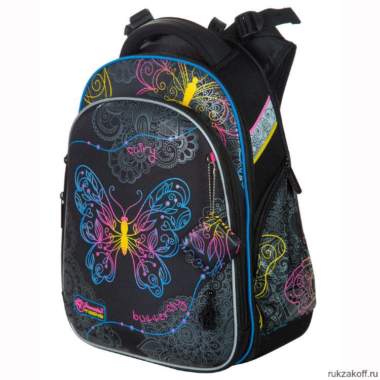 ed23881a6f14 Школьный рюкзак-ранец Hummingbird T91 Butterfly Black купить по цене ...