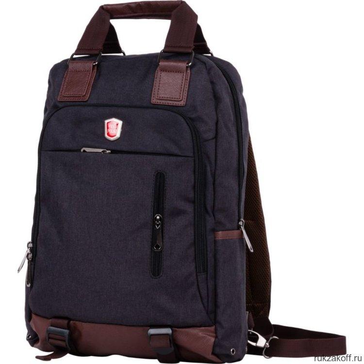 529c6fd2c760 Рюкзак-сумка Polar 541-7 черный купить по цене 2 533 руб. в Москве ...