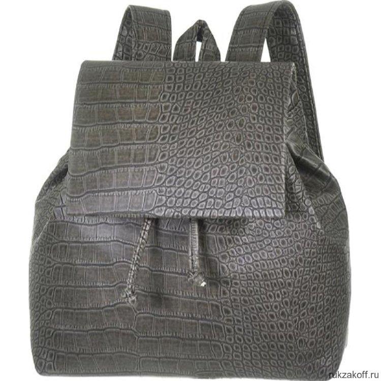 a68c5b1ad4a2 Женский рюкзак Asgard Р-5281 Крокодил Серый купить по цене 2 280 руб ...