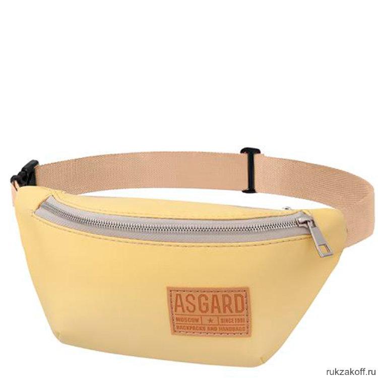 5f78c99f68ff Поясная сумка Asgard С-5212 из экокожи Желтая купить по цене 1 300 ...
