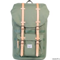 Рюкзак Herschel Little America Deep Lichen Green Stripe