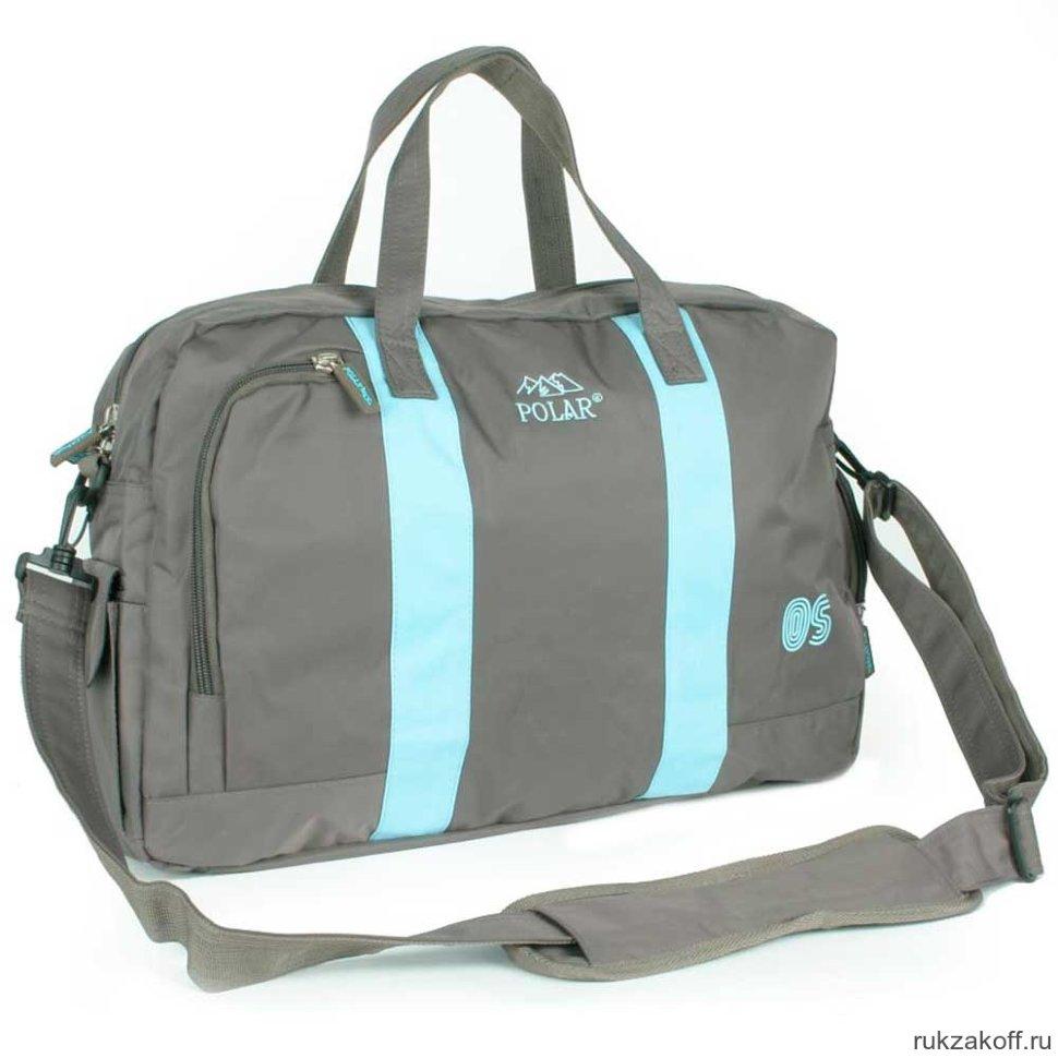 e4cb6aa02c47 Спортивная сумка Polar Г-268 (серый) купить по цене 3 081 руб. в ...