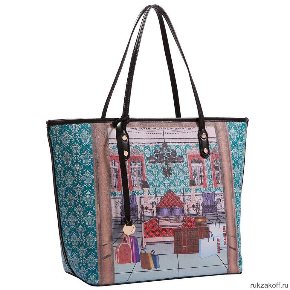 3d03ab2dbc03 Женская сумка Pola 4295 (бирюзовый) купить по цене 2 440 руб. в ...