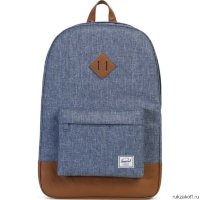 Рюкзак Herschel Heritage Dark Chambray Crosshatch