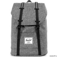 Рюкзак Herschel Retreat RAVEN CROSSHATCH