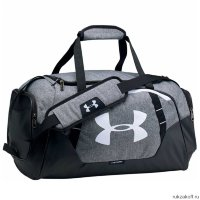 Сумка Under Armour Undeniable Duffle 3.0 SM Серо-черный