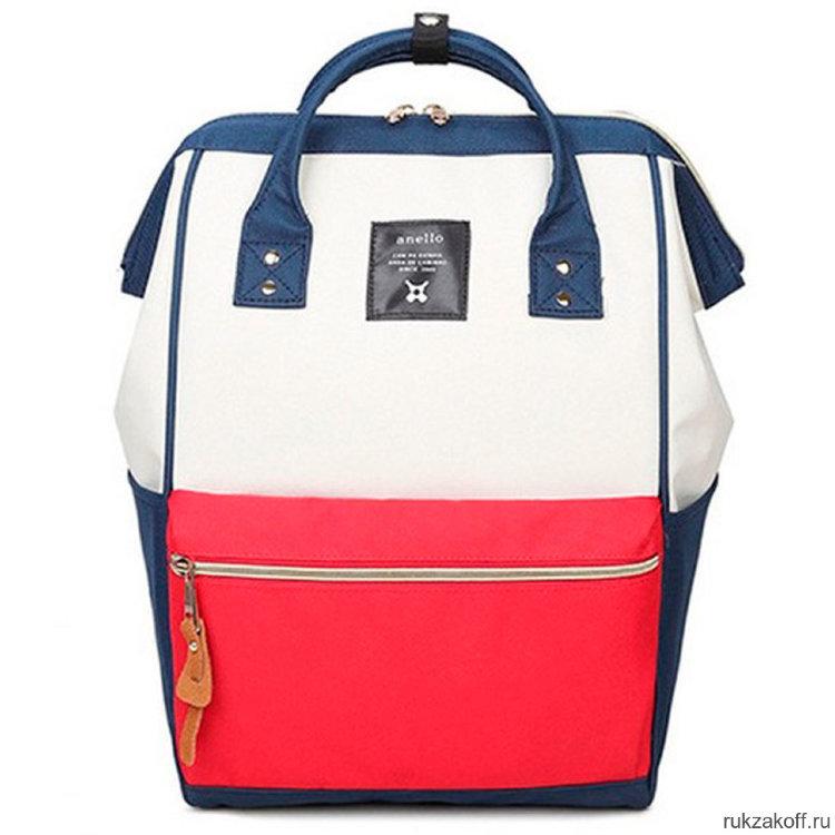 66f07ca4205a Рюкзак Anello красный/синий купить по цене 2 520 руб. в Санкт ...