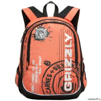 Рюкзак Grizzly Carnes Orange Ru-601-3