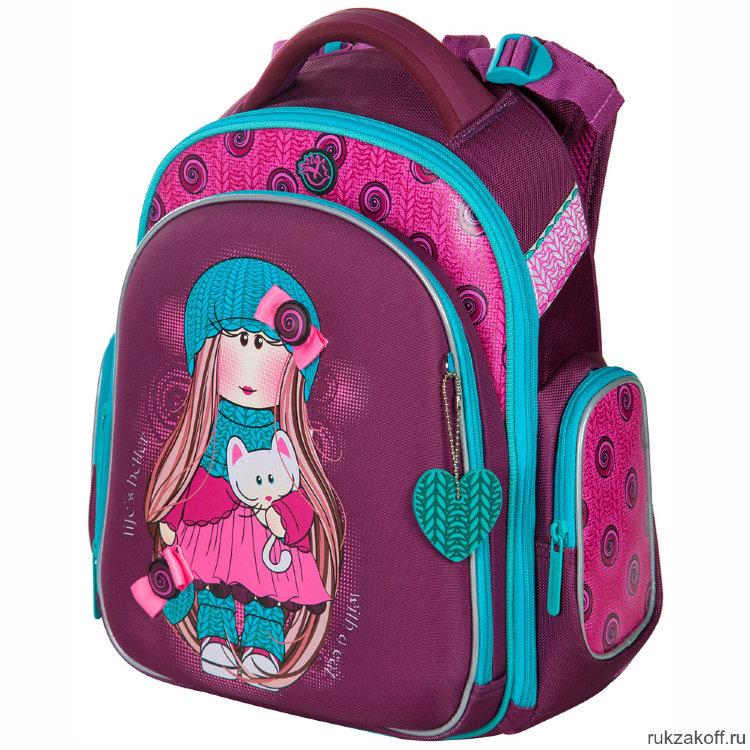 Школьный рюкзак-ранец Hummingbird TK39 Girl Kitten купить по цене 3 ... 8d6b2e4cf76