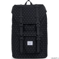 Рюкзак HERSCHEL LITTLE AMERICA MID-VOLUME BLK G.LOCK