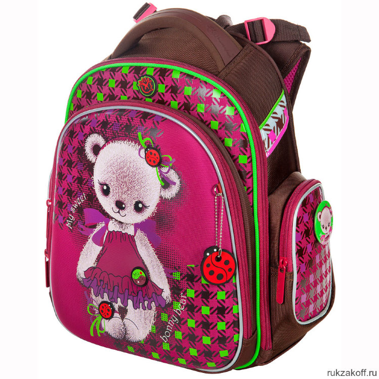 76e2f786cccb Школьный рюкзак-ранец Hummingbird TK42 Bonny Bear купить по цене 4 ...
