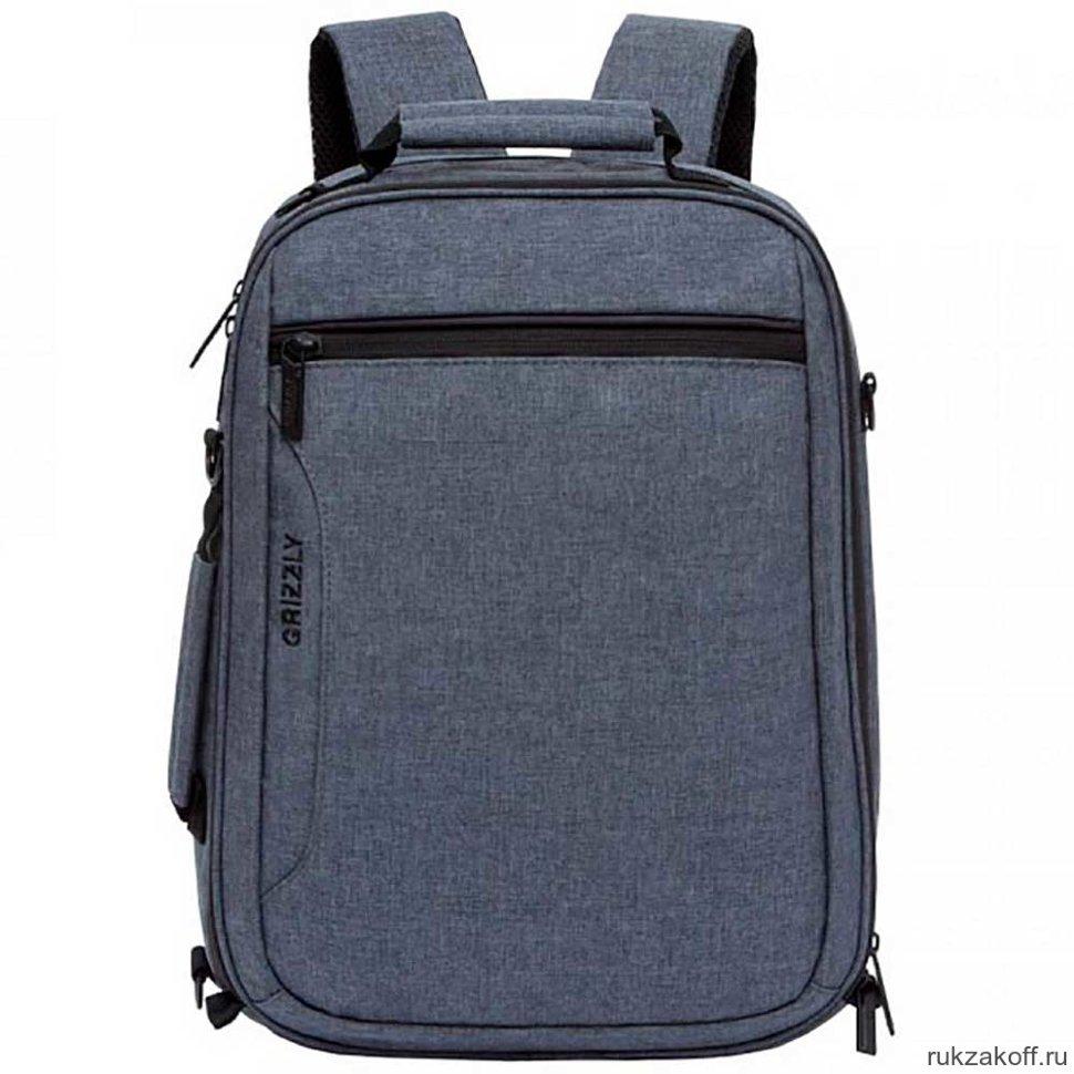 6dcc98af02e2 Рюкзак Grizzly RU-805-1 Серый купить в Екатеринбурге по низкой цене ...