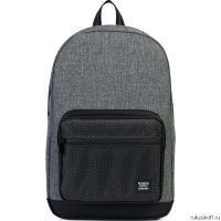 Рюкзак Herschel Pop Quiz Raven Crosshatch Gray/Black