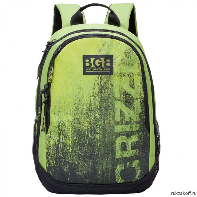 Рюкзак Grizzly Sand Lime Ru-603-1