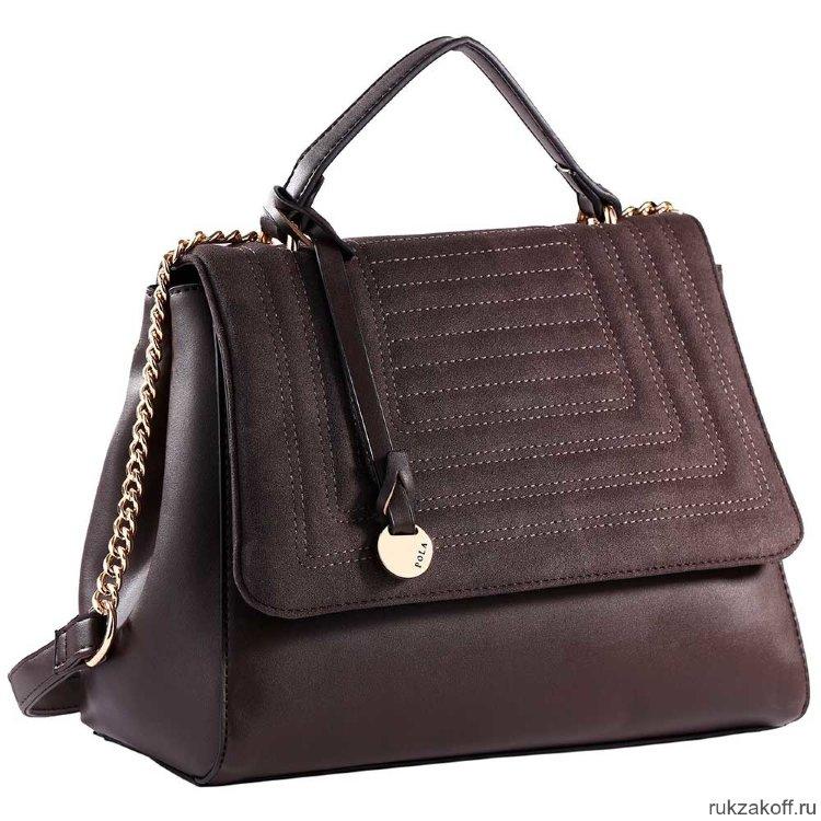 04a6ae0bec7c Женская сумка Pola 74489 (коричневый) купить по цене 2 760 руб. в ...