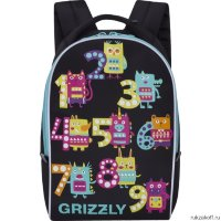 Рюкзак Grizzly Numeral Black RS-764-6