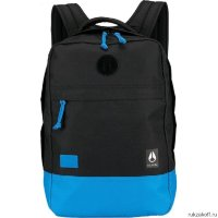 Рюкзак NIXON BEACONS BACKPACK Black-Blue