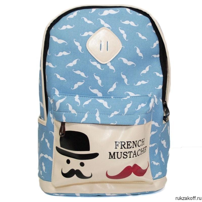 Рюкзак с принтом усы купить рюкзаки школьные для девочек через плечо