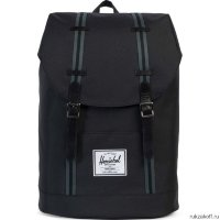 Рюкзак Herschel Retreat Black-Dark Shadow
