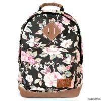 Рюкзак полар с цветочками детские мягкие рюкзак игрушка