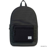 Рюкзак HERSCHEL SETTLEMENT Black Grid