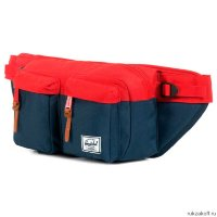 Поясная сумка Herschel Eighteen Navy/red