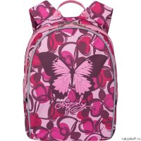 Рюкзак Grizzly Bright Butterfly Pink Rs-764-3