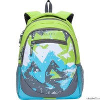 Рюкзак Grizzly Abstract Light Green RD-751-1