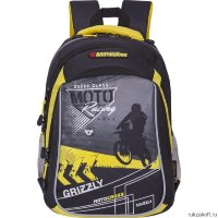 Рюкзак Grizzly Motocross Yellow Rb-733-1