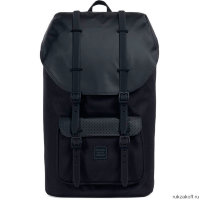 Рюкзак Herschel Little America Black/Black Rubber2