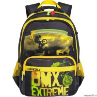 Школьный рюкзак Grizzly Bmx Extreme Yellow Rb-732-3